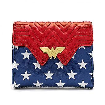Wonder Woman Loungefly Metallic Kunstleder Brieftasche