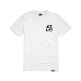 Etnies Contraste T-Shirt de Manga Curta em Branco