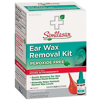 Similasan peroxide free ear wax removal kit, 0.33 oz
