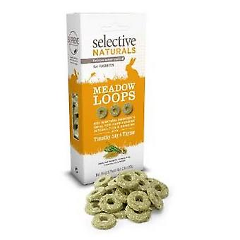 Selective Naturals Meadow Loops With Timothy Hay Rabbit Treats (4 Packs)