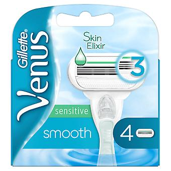 Gillette Smooth Sensitive 4 Units Refill