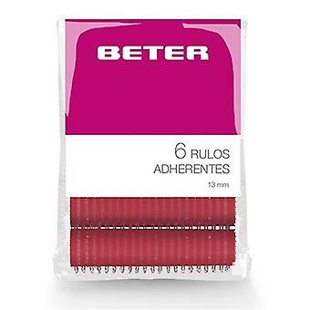 Rolos de cabelo Beter (6 uds)