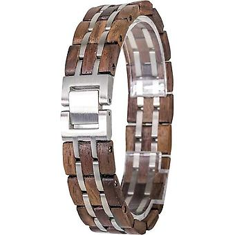 Element Bracelet Wadtime Walnut Silver Colors - EL-W01