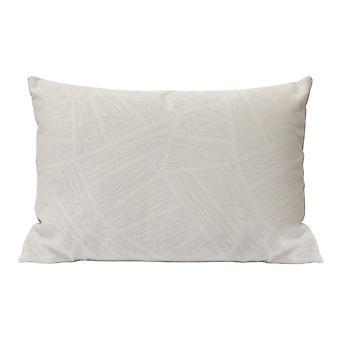 Frost Grey Velvet Indoor / Outdoor Lumbar Pillow