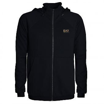 EA7 Emporio Armani Men's Black Sweat Top