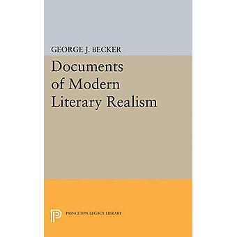 Documents of Modern Literary Realism by George Joseph Becker - 978069
