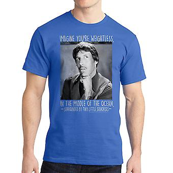 Napoleon Dynamite Imagine SS Men's Royal Blue Funny T-shirt
