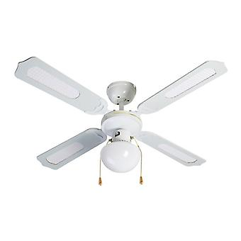 Ceiling Fan with Light Grupo FM VT-CLASSIC-105B 50W White