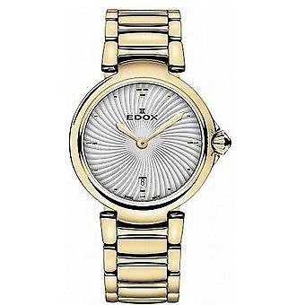 Edox Watches LaPassion 2 Hands Women's Watch 57002 37RM AIR