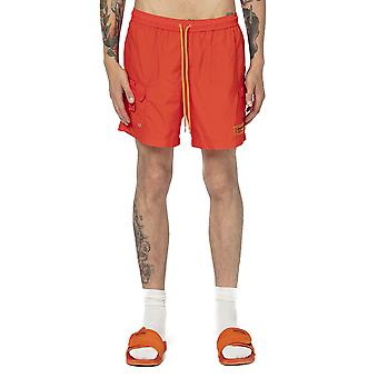Reiger Preston Hmfa003s209080071900 Heren's Oranje Nylon Trunks