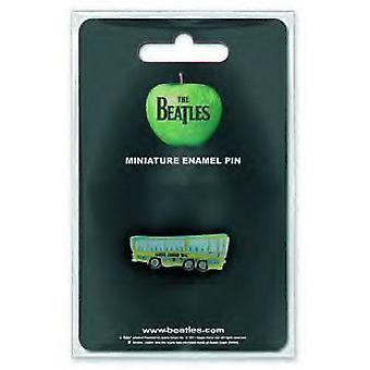 De Beatles Magical Mystery Tour Bus officiële metalen Mini revers speld Badge