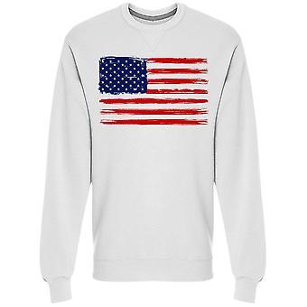 American Flag. Cool Style Sweatshirt Men's -Image by Shutterstock