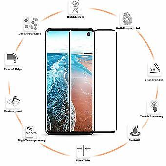 Samsung Galaxy S10e - Bubbelfritt Härdat Glas Skärmskydd