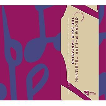 Telemann / Coolen, Saskia / Sato / Zipperling - Telemann: The Solo Fantasias [CD] USA import