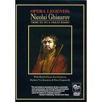Opera Legends: Nicolai Ghiaurov Tribute to a Great [DVD] USA import