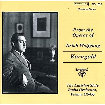 E.W. Korngold - From the Operas of Erich Wolfgang Korngold [CD] USA import