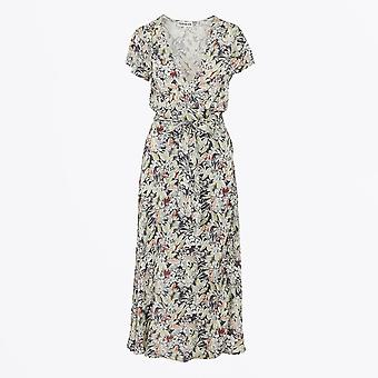 Teoh & Lea - Floral Print Wrap Midi Dress