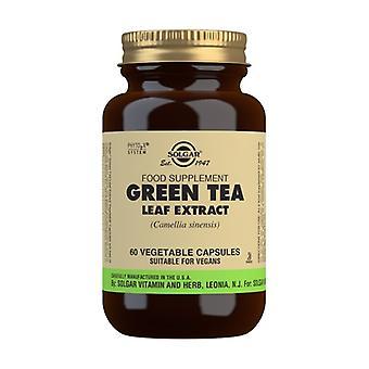 الشاي الأخضر 60 كبسولات نباتية