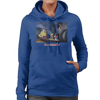 An American Tail Fievel And Family Women's Hooded Sweatshirt