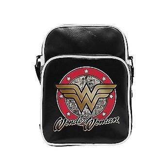 Wonder Woman Logo Vinyl Flight Bag