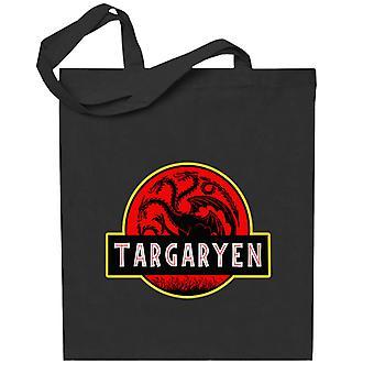 Targaryen Jurassic Park Juego de Tronos Totebag