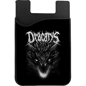 Dracarys Metal Band Targaryen Game of Thrones telefonkortshållare