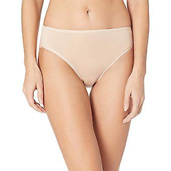 Essentials Women's Cotton Stretch Hi-Cut Brief Panty, Neutral Assorted, X-Small