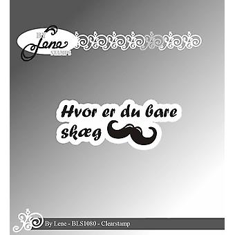 By Lene Clearstamp Danish Text 1