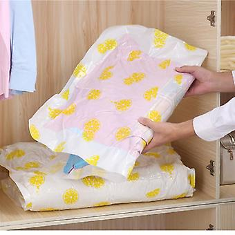Reusable, Vacuum Compressed Storage Bags For Clothes, Quilt And Pillows