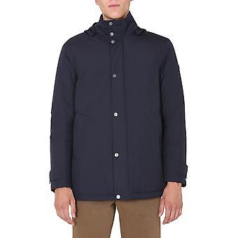 Z Zegna Vv019zz105b09 Herren's Blau Polyester Outerwear Jacke