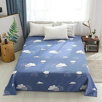 Enkel serie sengeplade cover, Soft Cozy Store Bedding Flat Single Double