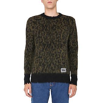 Golden Goose Gmp00548p00017035578 Men's Leopard Ull Tröja