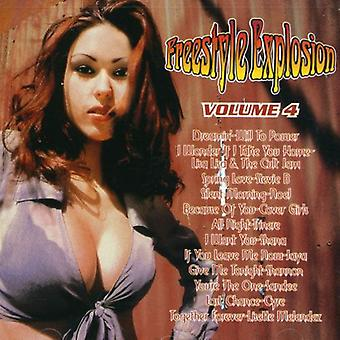 Freestyle Explosion - Vol. 4-Freestyle Explosion [CD] USA import