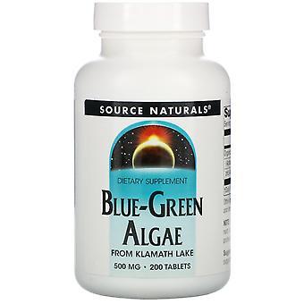 Source Naturals, Algues bleu-vert, 200 comprimés
