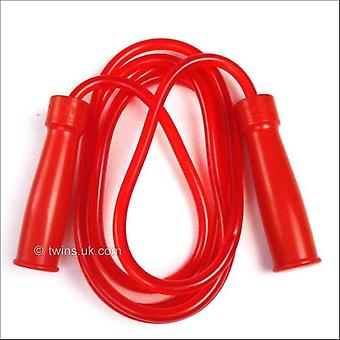 Twins special red heavy rubber bearing skipping rope