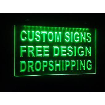 Ontwerp uw eigen aangepaste Adv Led Neon Lichtbord