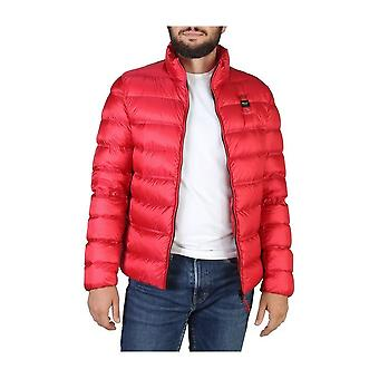 Blue - Clothing - Jackets - 19WBLUC03031-004938_551 - Men - Red - L