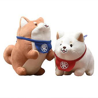 Lindo Shiba Inu Corgi perro animal suave relleno felpa muñeca cojín niños juguete regalo