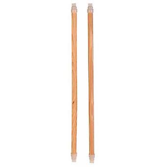 Trixie 4 Palos aubergistes en bois, 35 cm, ø 12 mm