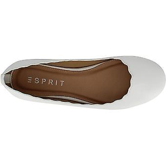 ESPRIT Damen's Schuhe E19ODE70 Leder Geschlossen Zehen Slide Wohnungen