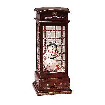 Straits Phone Box Spinner, Snowman