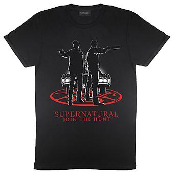 Overnaturlige Winchesters By Car Light Mænd's T-Shirt | Officielle merchandise