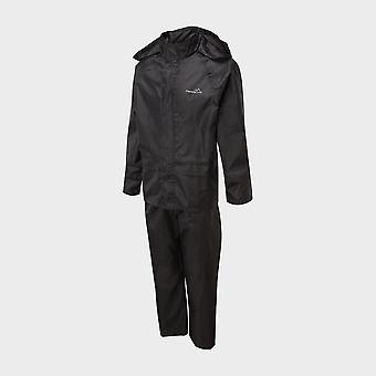 Nieuwe Freedom Trail Boys' Essential Waterproof Suit Zwart