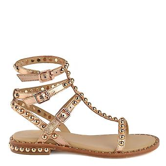 Ash Footwear Play Leather Sandals Rame
