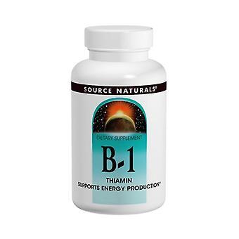 مصدر Naturals فيتامين ب-1، 100 ملغ، 100 علامات التبويب