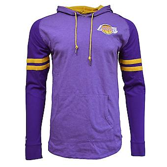 Mitchell & Ness Nba Lightweight Hoody 20 Los Angeles Lakers HDLSAJ19002LALPURP basketball all year men sweatshirts