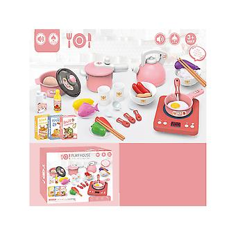 Children's Educational Simulation Kitchen Induction Cooker Toy Set