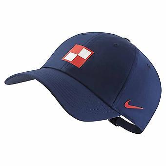 2020-2021 Kroatië H86 Cap (Marine)