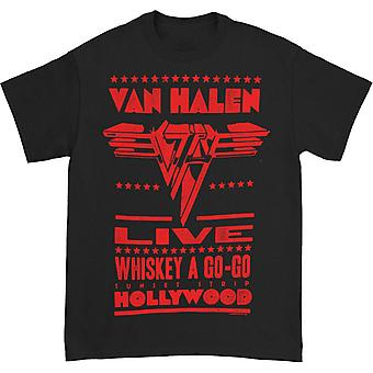 Van Halen Whiskey A Go-Go T-shirt