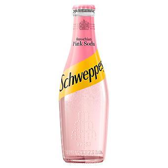 *Glass* Schweppes Russchian Pink Soda 200ml x 24 (Glass)